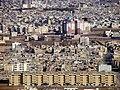 کلانشهر قم، نمایی از خانه ها و مدرسه صدوقی.jpg