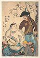 南京 於魯西亜-Russians and a Chinese Inscribing a Fan MET DP148000.jpg