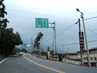 Provincial Highway 3 (Taiwan) Road in Taiwan