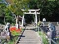 新野八幡神社の鳥居 2013.9.28 - panoramio.jpg