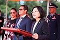 蔡英文總統於宏都拉斯共和國葉南德茲總統伉儷訪華軍禮歡迎儀式上致詞.jpg