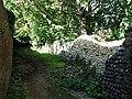 -2018-09-26 Remains of a tower, Norwich castle city wall, Oak Street, Norwich, Norfolk (1).jpg