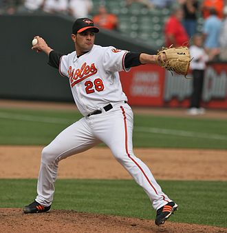 Danys Báez - Báez with the Baltimore Orioles