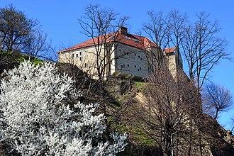 Sanok Castle - Image: 02014.3.30 Sanok, im März 2014
