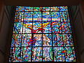 021212 Stained-glass window in Holy Trinity Church in Warsaw (Lutheran) (fragment) - 03.jpg