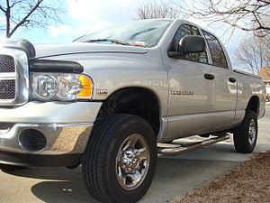 Photograph of a 2004 Dodge 2500 Quad Cab. The ...