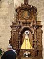 07a Olmos Peñafiel iglesia Santa Engracia retablo lateral Ni.JPG
