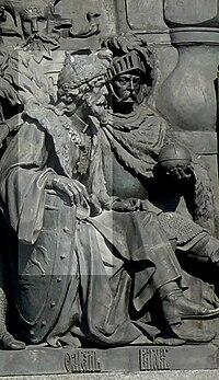 Ольгерд на памятнике 1000-летие России