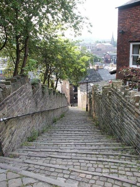 108 Steps in Macclesfield
