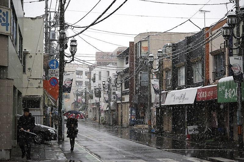 File:11月24日 Tokyoに雪が降る (31160221671).jpg