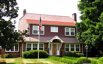 National Register of Historic Places listings in Knox County, Tennessee - Image: 119 adair drive knox tn 1