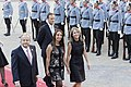 11 Marzo 2018, Ministra Cecilia Perez participa en la llegada del Prdte. Sebastian Piñera a La Moneda. (40046359734).jpg