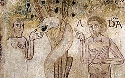 12th century unknown painters - Fall of Man - WGA19720.jpg