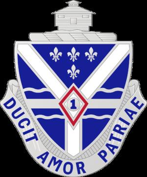 131st Infantry Regiment (United States) - Image: 131 Inf Rgt DUI