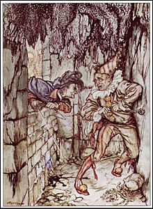the cask of amontillado  montresor walling up fortunato 1935 illustration by arthur rackham the cask of amontillado