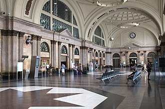 Barcelona França railway station - Image: 14 08 00 wlm es Ralf R 09