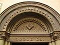 145 Església de les Escolàpies (Olesa), timpà.jpg