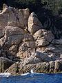 157 Cala Fotedera (Tossa de Mar), esculls.JPG