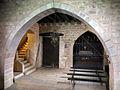 167 Castell de Santa Florentina (Canet de Mar), cripta.JPG