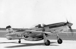 169th Airlift Squadron - F-51D-25-NA Mustang (s/n 44-73428) from the 169th Fighter Squadron