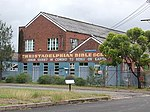 1740 - Rathmines Park, former RAAF Seaplane Base - Former Aircraft Repair Depot, the Administration buildings are used by the Christadelphian Bible School (5054666b).jpg