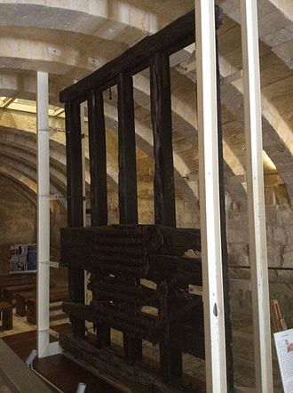 City Gate (Valletta) - 17th-century drawbridge believed to originate from the second city gate, now exhibited at the Fortifications Interpretation Centre