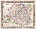 1860 Mitchell Map of Virginia (undivided) and North Carolina - Geographicus - VANC-mitchell-1860.jpg