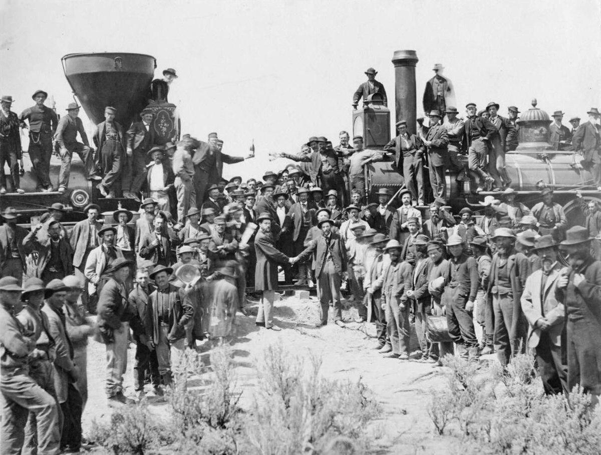 First Transcontinental Railroad Wikipedia