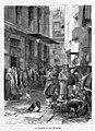 1871-03-15, La Ilustración de Madrid, La calle de la Caza en Madrid, Pradilla.jpg
