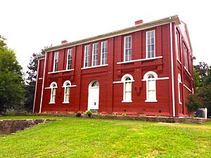 Tishomingo County, Mississippi - 1870 courthouse, in Iuka, Ms..