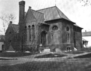 Brookfield, Massachusetts - Brookfield public library, 1899