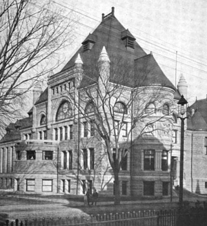Frederick W. Stickney - Image: 1899 Lowell public library Massachusetts