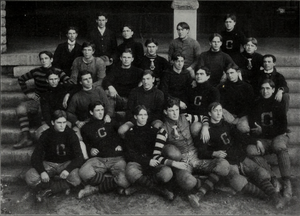 1900 Clemson Tigers football team - Image: 1900 Clemson Tigers football team (Clemsonian 1901)