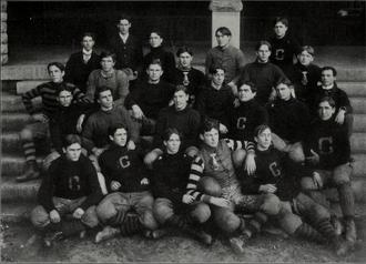 1900 Clemson Tigers football team - Image: 1900 Clemson Tigers football team (Clemsonian 1901)