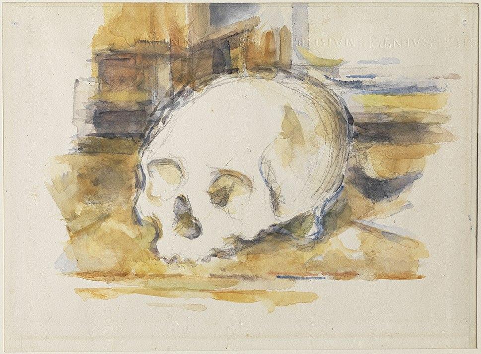 1902, C%C3%A9zanne, Study of a Skull