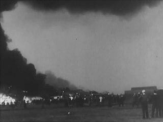 <i>Hindenburg</i> disaster newsreel footage 1937 film