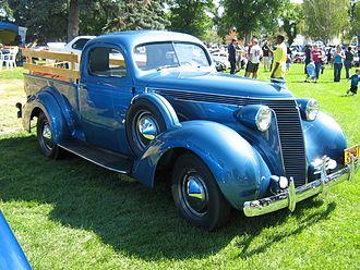 Studebaker Coupe Express - 1937 Studebaker Coupe Express
