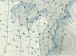 Weather Map Nh.1938 New England Hurricane Wikipedia