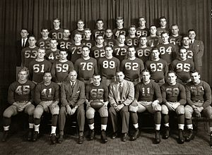 History of Michigan Wolverines football in the Oosterbaan years - 1948 national championship team