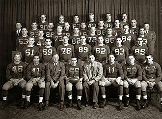 1948 Michigan Wolverines football team - Image: 1948 michigan football team