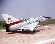 194th Fighter-Interceptor Squadron - Convair F-106A-135-CO Delta Dart 59-0136