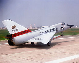 194th Fighter-Interceptor Squadron - Convair F-106A-135-CO Delta Dart 59-0136.jpg