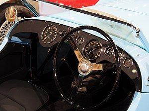 Healey Silverstone - Interior of a 1950 Silverstone