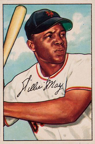 Willie Mays - 1952 Bowman Gum Willie Mays