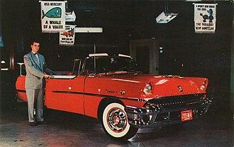 Automobile salesperson - Automobile salesperson in 1955
