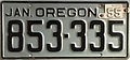 1955 Oregon license plate.JPG