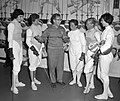 1960 Dutch Olympic fencing team women2.jpg