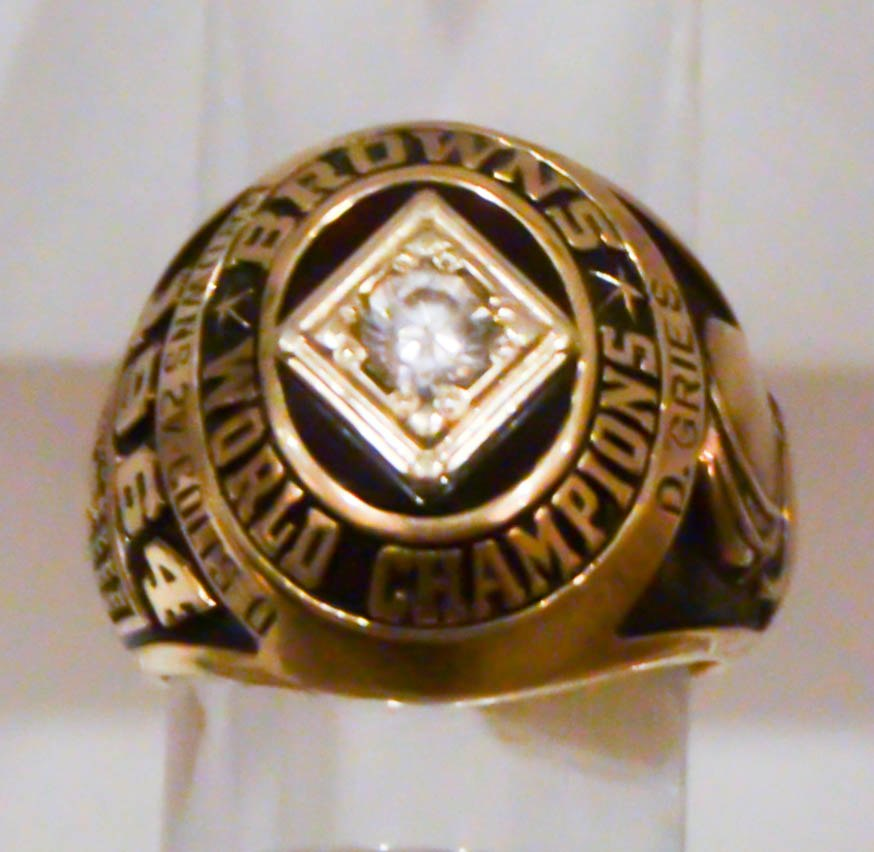 1964 Cleveland Browns World Champions ring