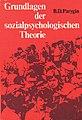 1976 Boris Parygin Grundlagen der sozialpsychologischen Theorie.jpg