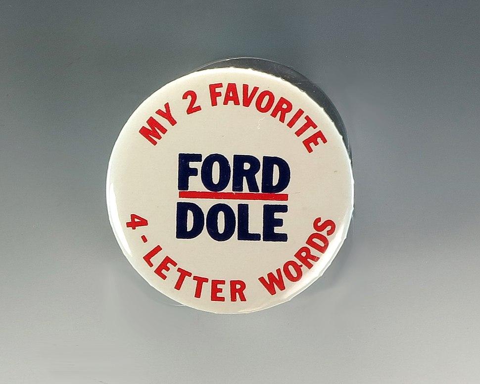 1976 campaign button a